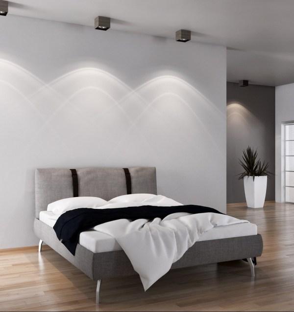 Camera da letto con parquet
