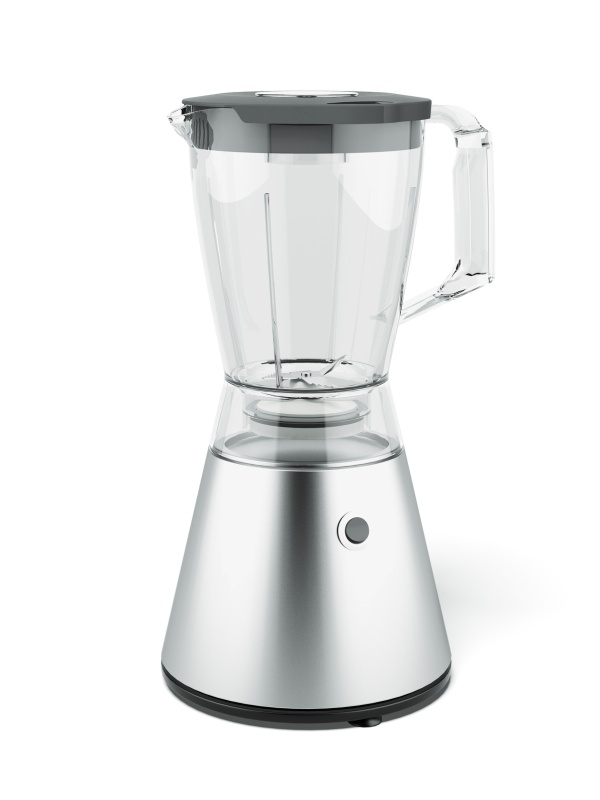 Metal Blender  isolated on a white background. 3d render