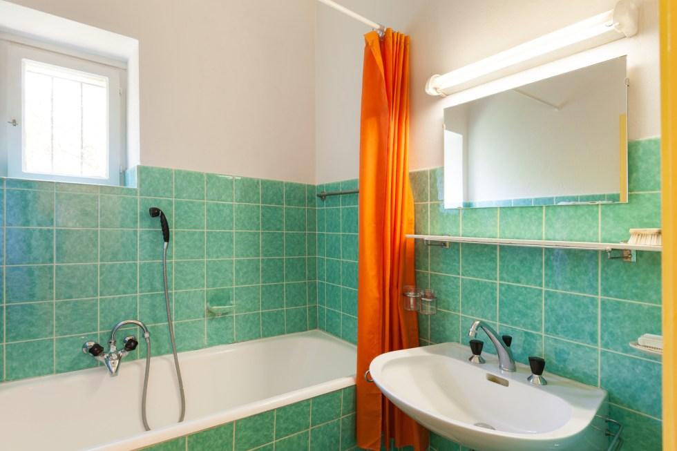 Architecture, interior house, old bathroom