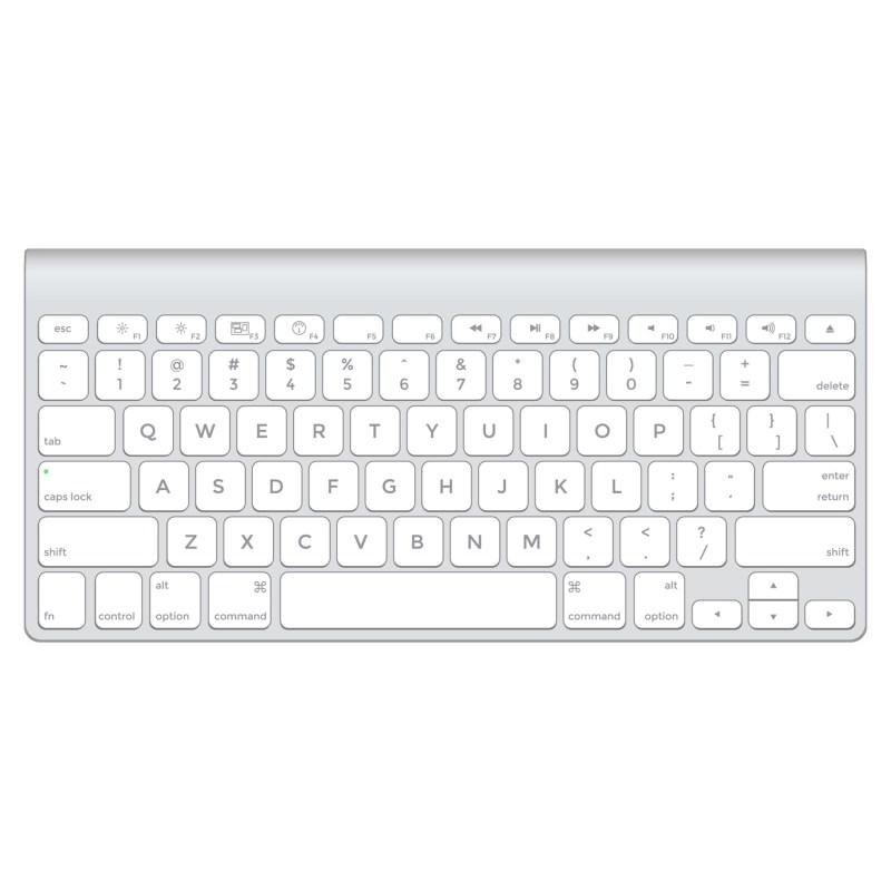 vector short aluminium computer keyboard