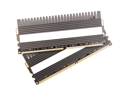 RAM Computer Memory Chip Modules With Heatsink Isolated