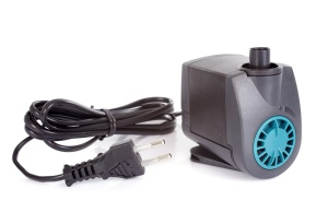 water pump in front of white background