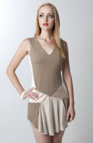 tan-dress
