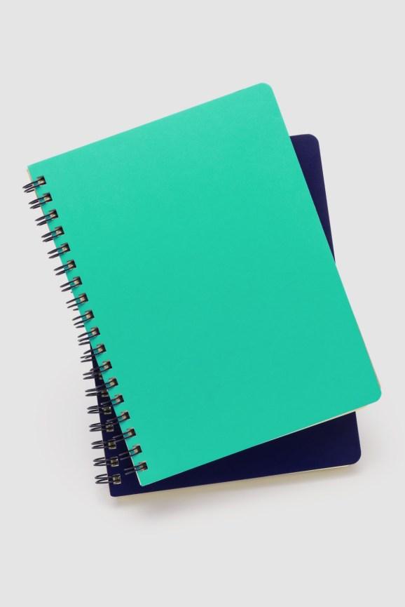 Notebook teal