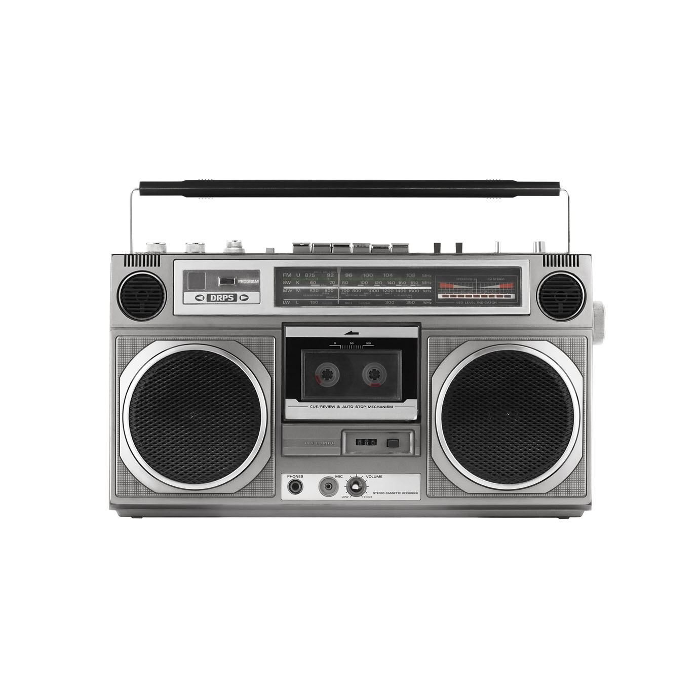 Old Style Ghetto Blaster Storefront