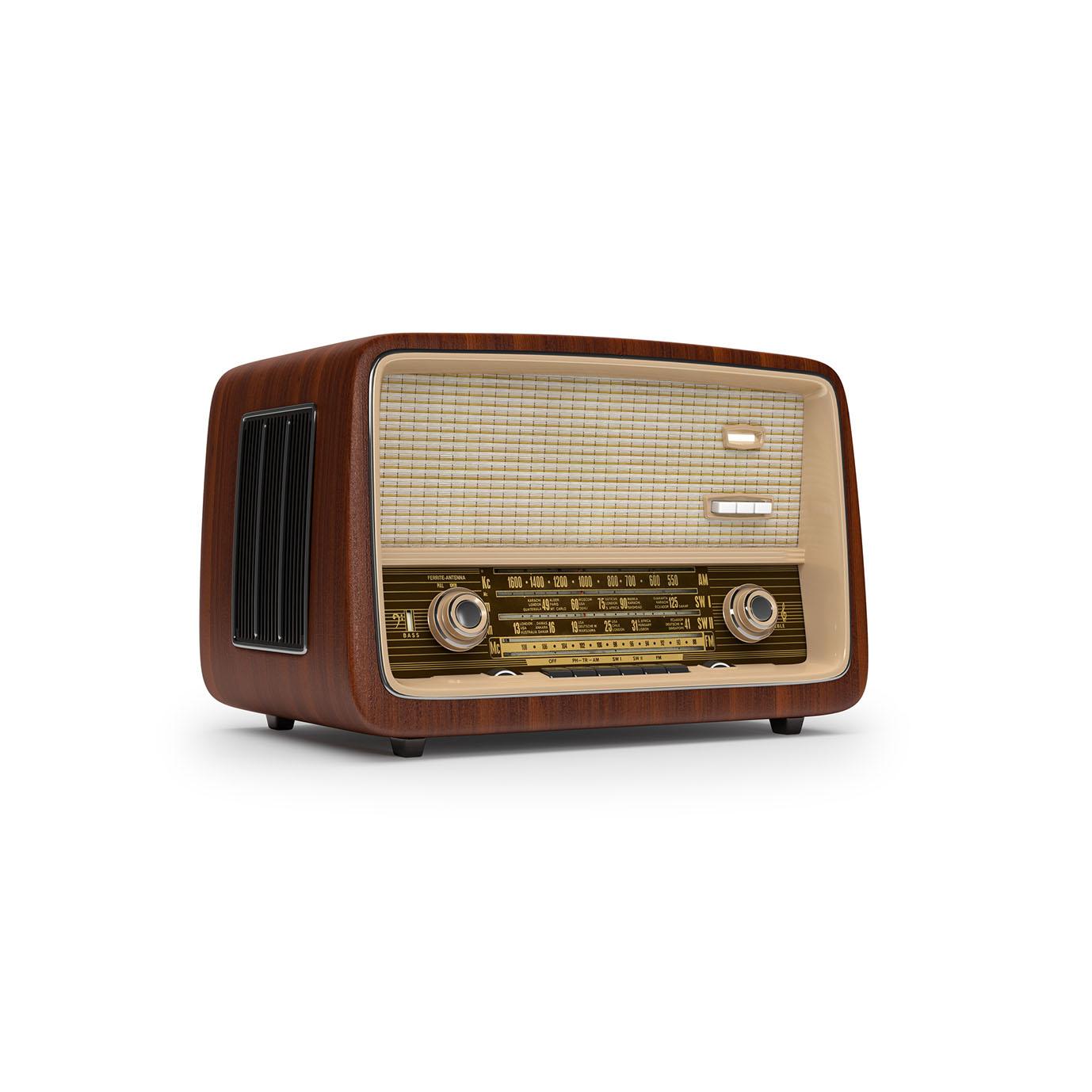 Vintage radio storefront for Classic house radio