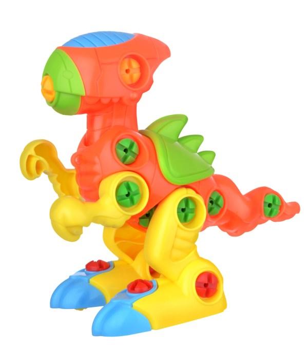 Robot Dino isolated on white