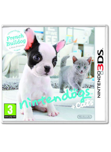 Nintendogs and Cats: French Bulldog and New Friends | Woo